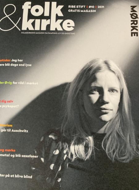 """Billede af forside af magasinet """"Folk & Kirke"""""""